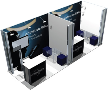 Diamond & Gold Partners Exhibiting Stand