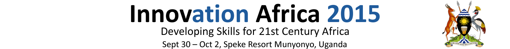 30 Sept - 2 Oct, Lake Victoria, Uganda - Developing Skills for 21st Century Africa